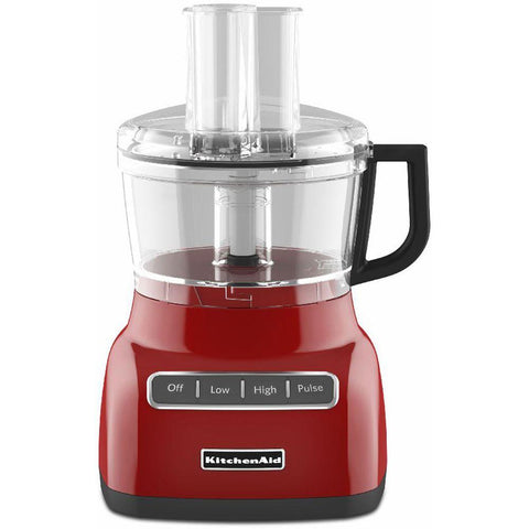 Kitchenaid KFP0711 7-cup Food Processor - Empire Red