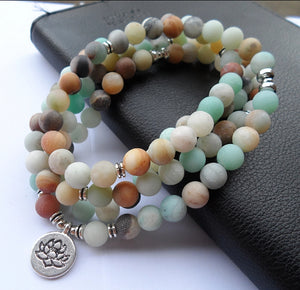 Mala Necklace , Gemstone Bracelet