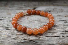Load image into Gallery viewer, Red Aventurine Unisex 8mm Bracelet