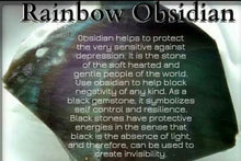 Load image into Gallery viewer, Mini Rainbow Obsidian Sphere