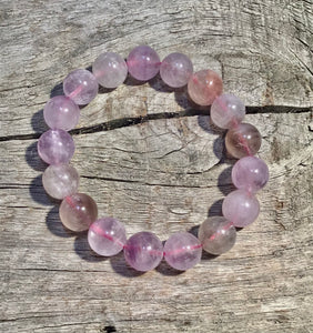 Natural Light Super 7 Bracelet 12mm