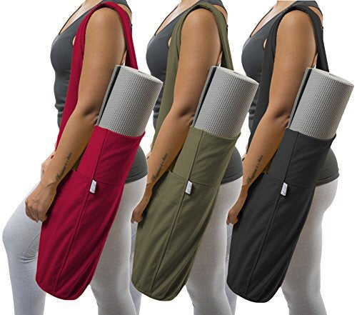 Yoga Mat Bag, Canvas , Three  different Colours