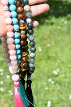 Load image into Gallery viewer, 10mm Cherry Blossom Jasper and Pearls Tasbih