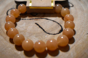 Natural Red Aventurine Bracelets  Available in 6mm and 10mm