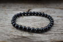 Load image into Gallery viewer, Black Tourmaline Bracelet 6mm