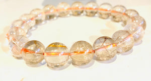 Rutile Quartz 10mm Beautiful Bracelet
