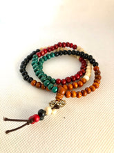 Load image into Gallery viewer, Mala wood beads Bracelet