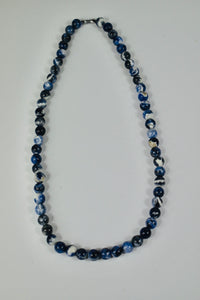 Authentic  Sodalite Beaded  Necklace