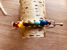 Load image into Gallery viewer, Cuff 7 Chakra Healing Bracelet