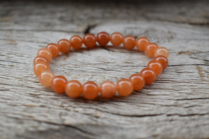Red Aventurine Unisex 8mm Bracelet