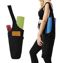 Load image into Gallery viewer, Yoga Mat Bag, Canvas , Three  different Colours