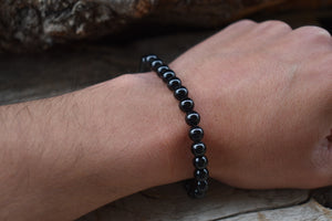 Black Tourmaline Bracelet 6mm