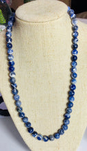 Load image into Gallery viewer, Authentic  Sodalite Beaded  Necklace