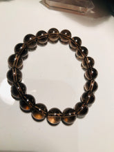 Load image into Gallery viewer, Smoky Quartz 10mm Round Beads