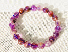 Load image into Gallery viewer, INCREDIBLE AMETHYST CACOXENITE BRACELET