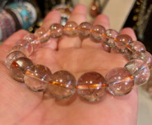 Load image into Gallery viewer, Rutile Quartz 10mm Beautiful Bracelet