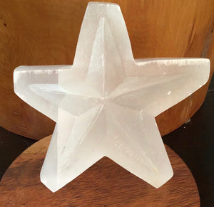 Selenite Star 201g