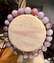 Load image into Gallery viewer, Genuine Lepidolite 6mm Bracelet