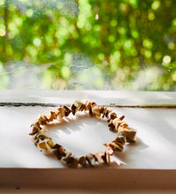 Load image into Gallery viewer, NATURAL PICTURE JASPER STONE GEMSTONE STRETCHY CHIP BRACELET