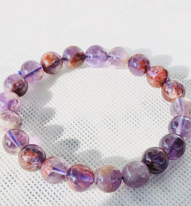 INCREDIBLE AMETHYST CACOXENITE BRACELET