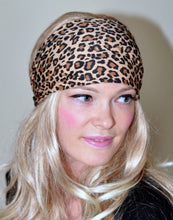 Load image into Gallery viewer, Leopard Striped Yoga Headband