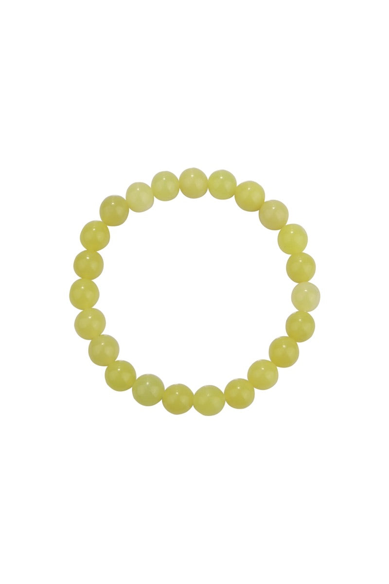 Pretty Lemon Jade 8mm Bracelet