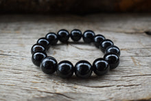 Load image into Gallery viewer, Black Onyx 14mm Bracelet