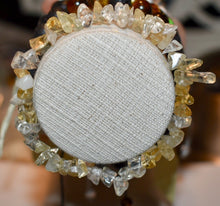 Load image into Gallery viewer, Citrine Stretch Chip Strand Bracelet