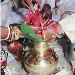 Quirky wedding rituals in India
