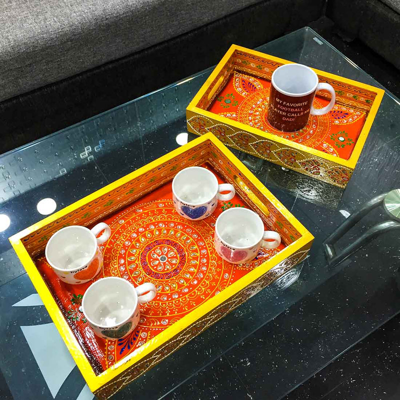 Serving Tray Set 14 Inch - ApkaMart