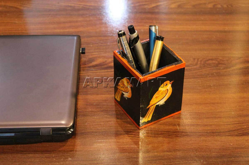 APAKAMART Black Pen Holder 4 Inch