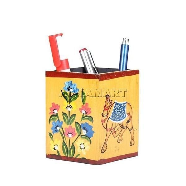 APAKAMART Flower Pencil Container 4 Inch