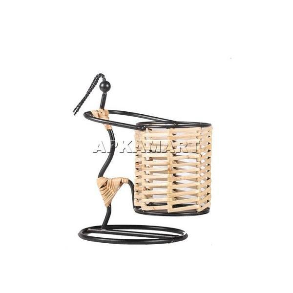 APAKAMART Girl Pen Basket 7 Inch