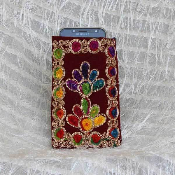 APKAMART Antique Design Mobile Pouch
