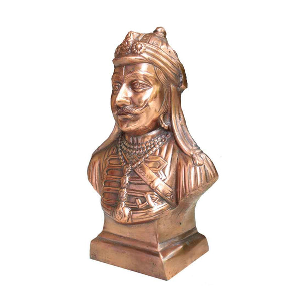 Antique Maharana Pratap Statue