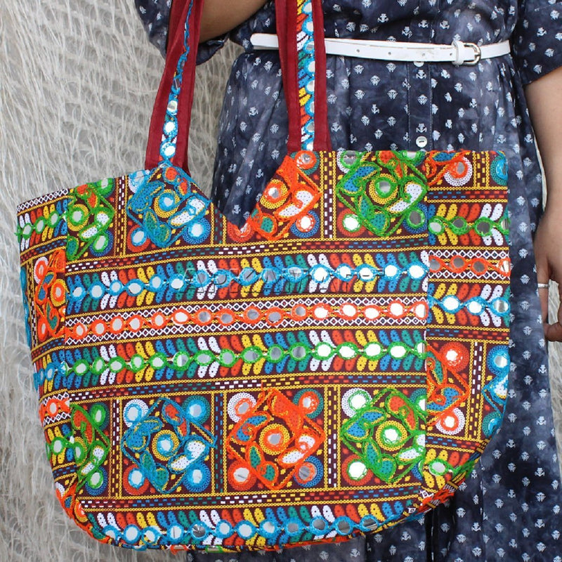 APKAMART Antique Traditional Hand Bag
