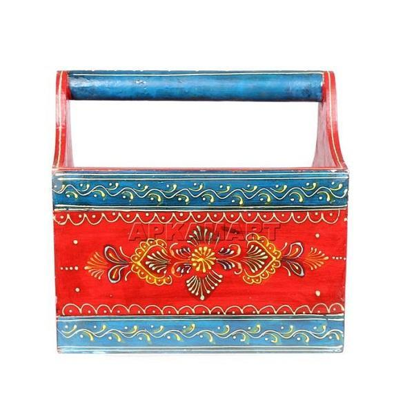 APKAMART Basket Magazine Holder 12 Inch