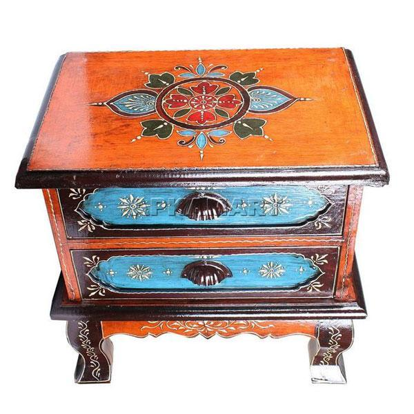 APKAMART Bedside Table 18 Inch