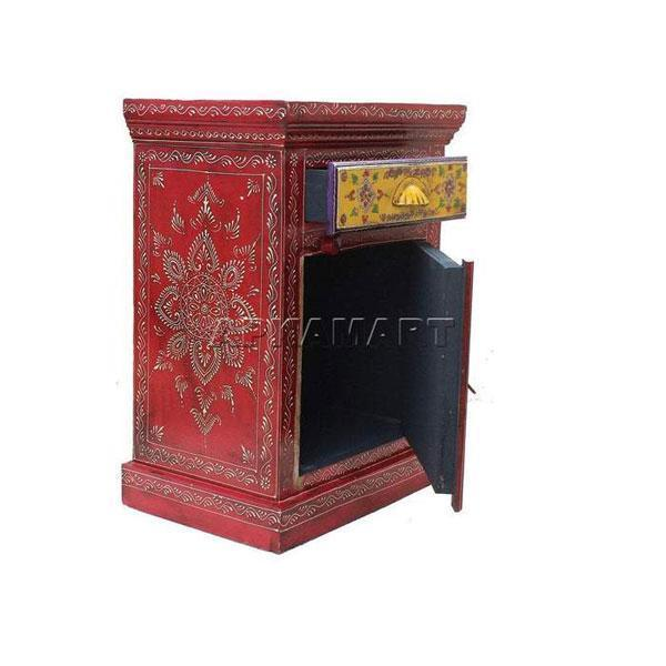 APKAMART Bedside Table 24 Inch