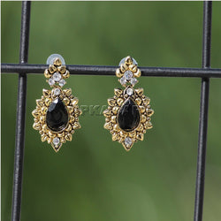 APKAMART Black Traditional Studs