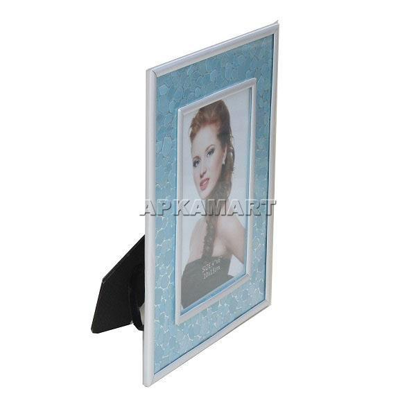APKAMART Blue Table Photoframe 9 Inch