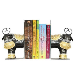 APKAMART Bookend Set 8 Inch