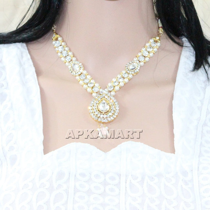 Bridal Necklace Set - ApkaMart