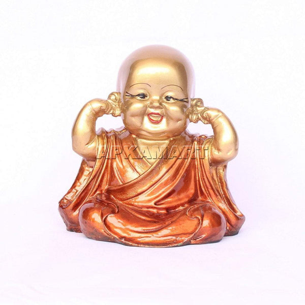 APKAMART Brown Baby Monk Set 6 Inch