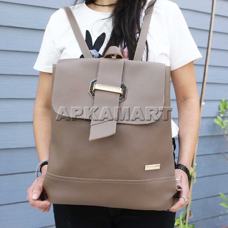Brown Color BackPack 13 Inch
