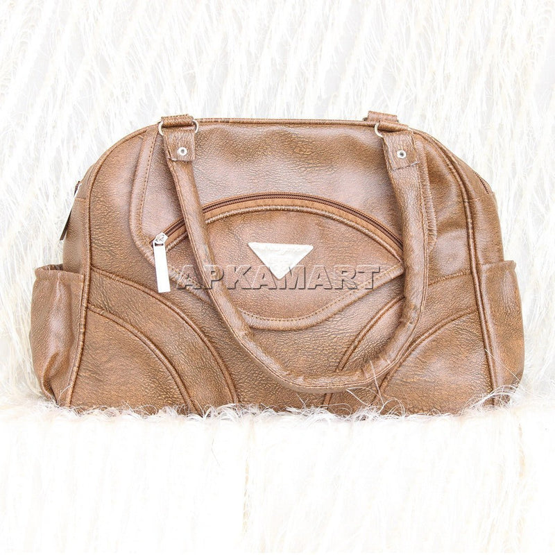 APKAMART Brown Hand Bag