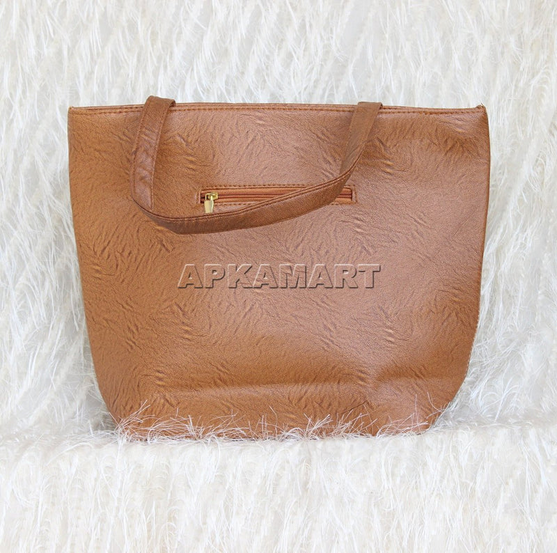 Brown Hand Bag - ApkaMart