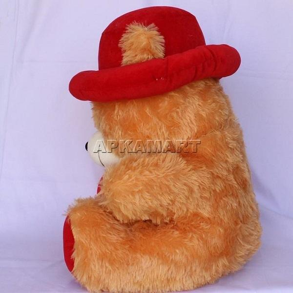 APKAMART Brown Hat Teddy Bear