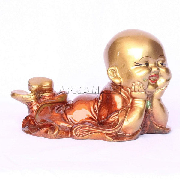APKAMART Brown Relaxing Baby Monk 6 Inch