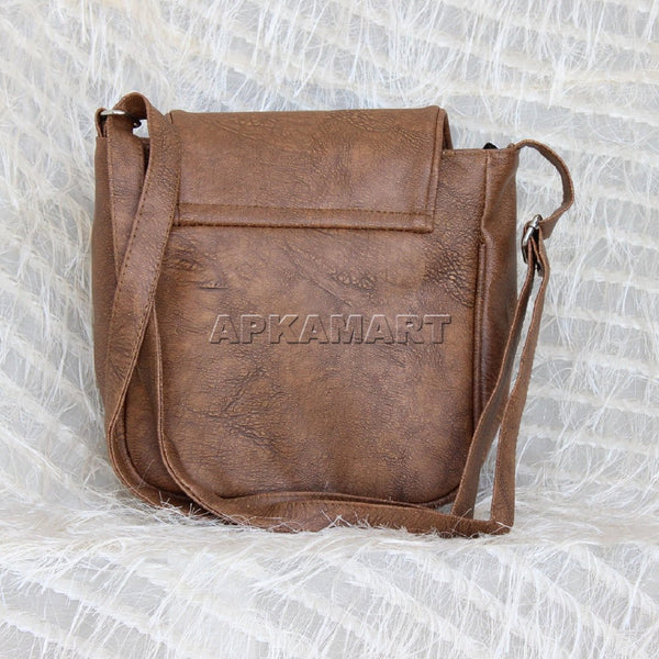 APKAMART Brown Sling Bag